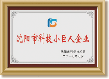 沈阳市科技小巨人企业