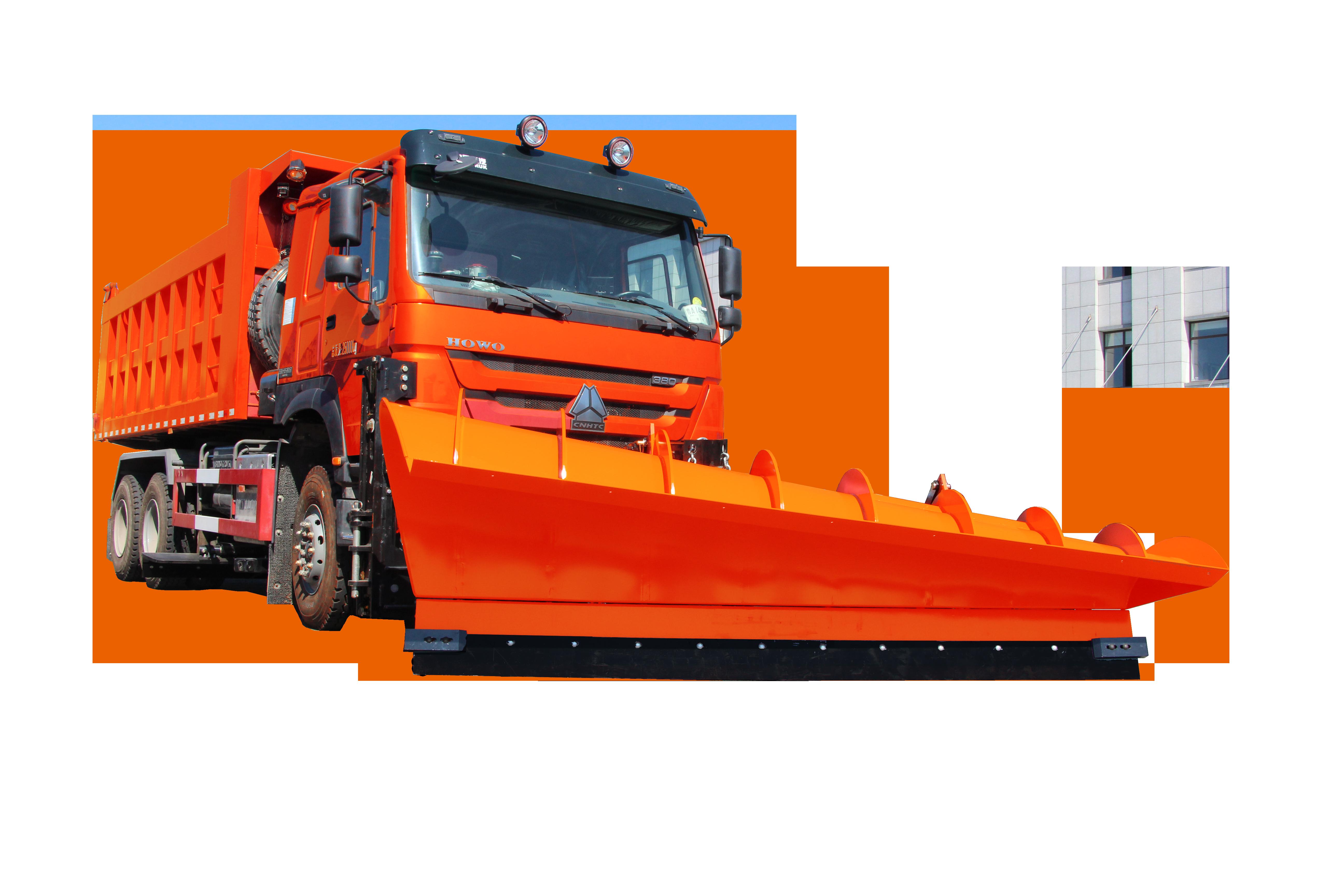 LDH5256TCXZZ大型多功能综合除雪车
